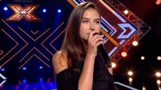 Х-фактор 7 сезон 7 выпуск - София Тарасова - 08.10.2016 HD720