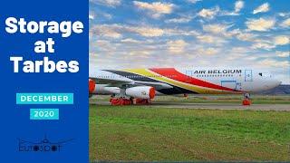 Huge Airplane Graveyard & Storage Planes, [Tarmac Aerosave, Tarbes] December 2020
