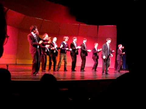 """OOTB...Out of the Blue, Oxford's A Capella group sings """"The Lion Sleeps Tonight"""""""