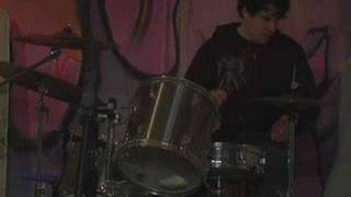 Savant on drums: John Birmingham (John Angel)