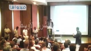 """بالفيديو وزير الآثار يفتتح فعاليات مؤتمر """" طيبة في الألفية الأولي"""" بمشاركة 46 باحث اثري مصري وأ"""