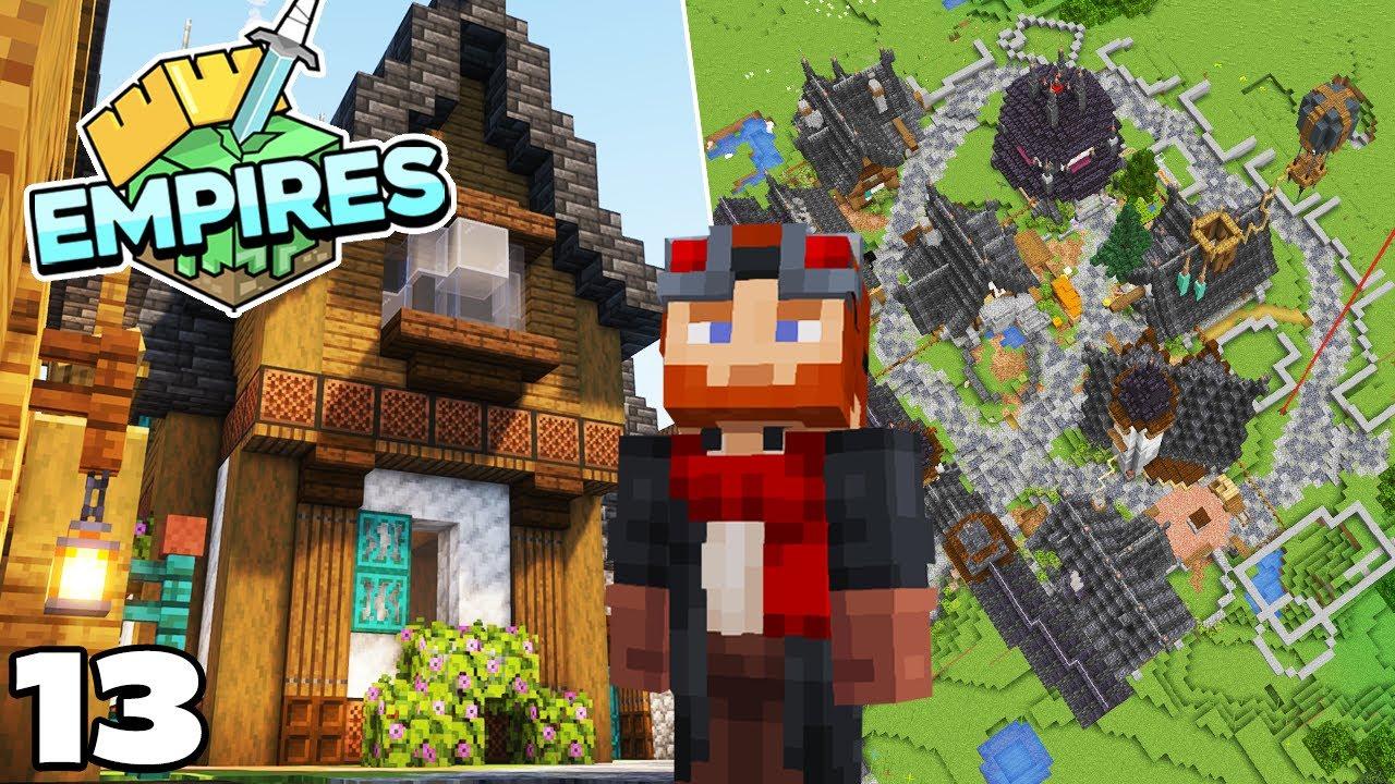 Empires SMP : MEGA BASE EXPANSION : Minecraft 1.17 Survival Let's Play
