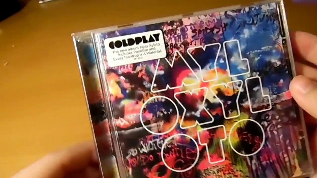 Download Coldplay - Mylo Xyloto - Unboxing