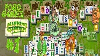 Pogo Games ~ Mahjong Gardens #1