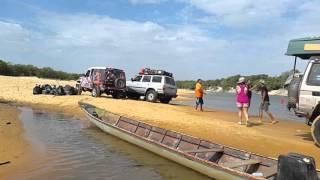 Cruce del Rio Cinaruco carnavales  2016 parte 2