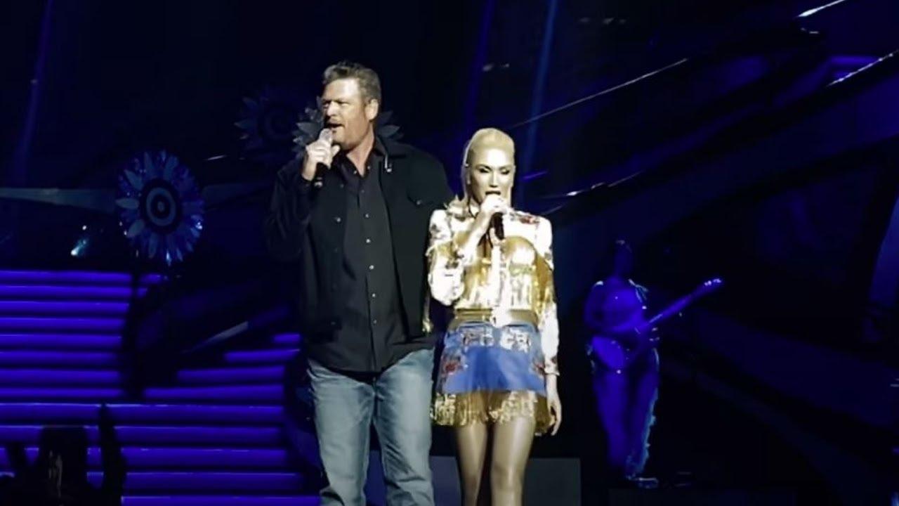 Gwen Stefani Sings No Doubt Classic With Blake Shelton