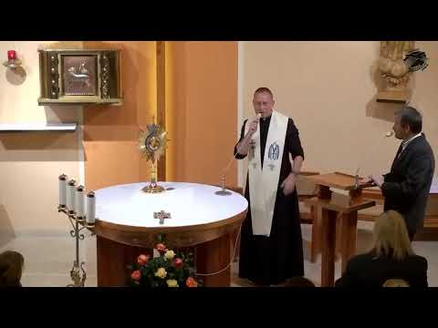 12 - o. Dominik Chmielewski SDB – Viera v moc Ježiša, najväčšia intimita lásky, túžba tela po nehe