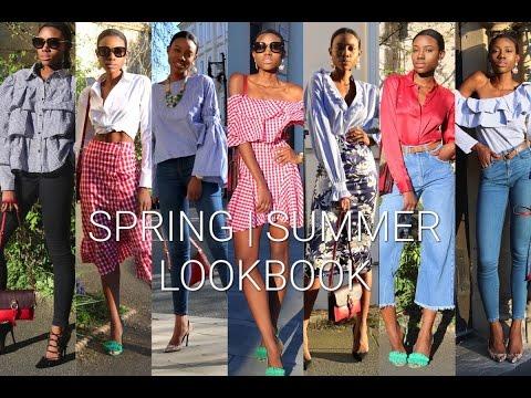 Spring   Summer Lookbook feat Massimo Dutti, Topshop, ZARA & SheIn