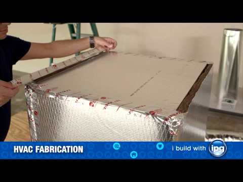 Installing an HVAC Duct Box