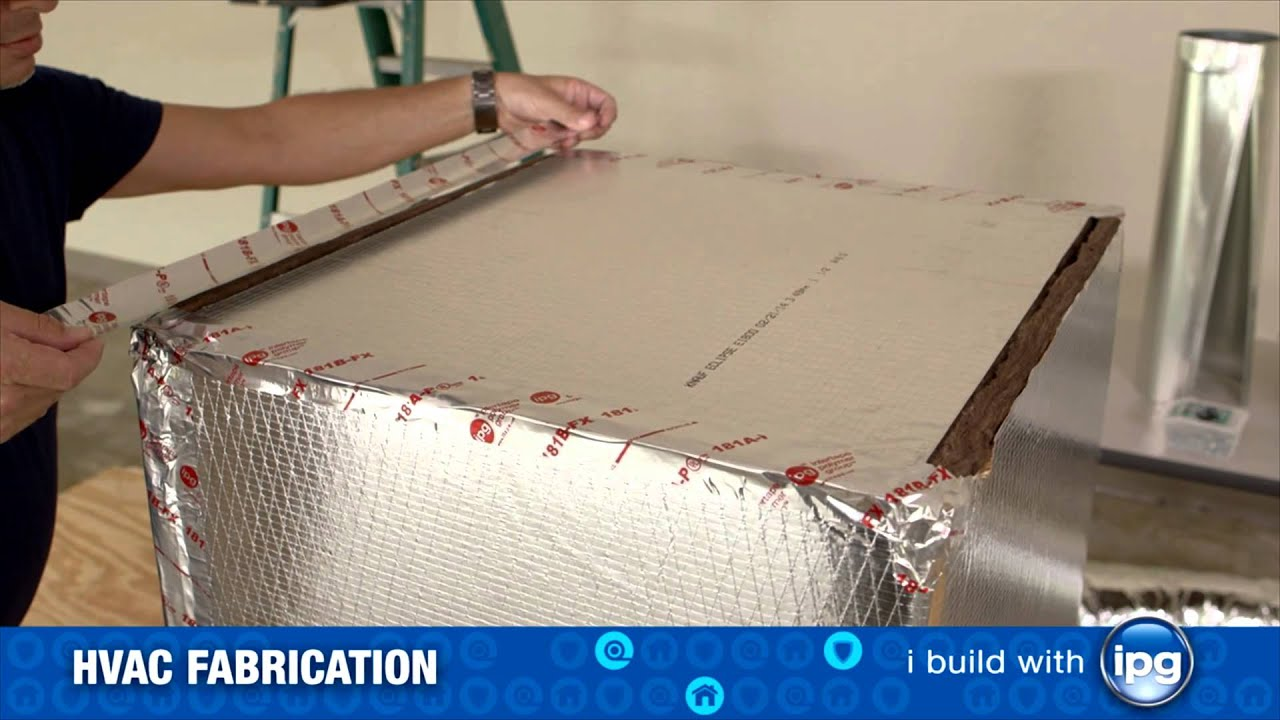 Installing An Hvac Duct Box Youtube