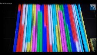 Đèn LED Ống Full Color Chữ D - LED Trang trí tòa nhà thay đổi hiệu ứng