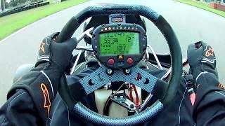 First time driving a shifter kart (CRG KZ10 KZ2) - Outdoor Karting Genk (BE) - Stint#2