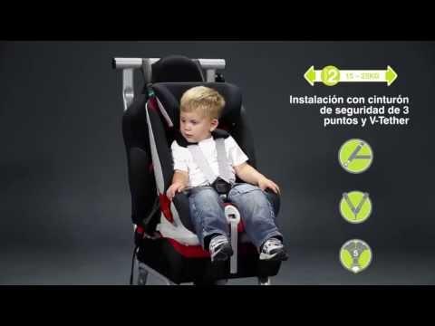 Nueva silla auto r mer xtensafix grupo 1 2 3 youtube for Mejor silla grupo 2 3