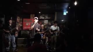 20160730 at SlowBlues/Nagoya アイパー大西(hp&vo) 久米はるき(g) ...