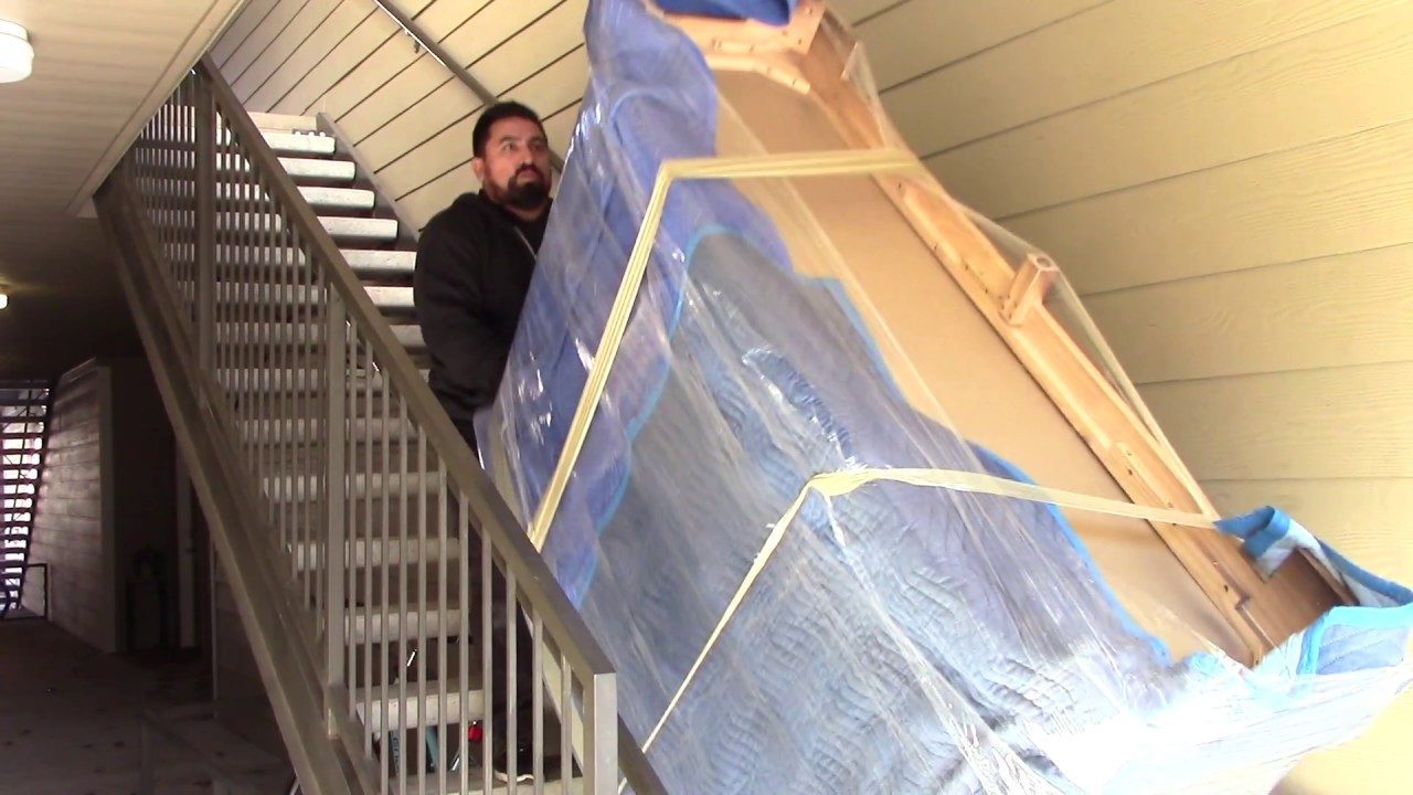 How To Move A Heavy Dresser Upstairs By Professional Mover