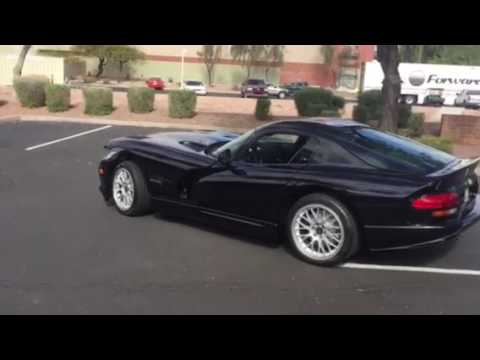 1999 Dodge Viper Acr Youtube