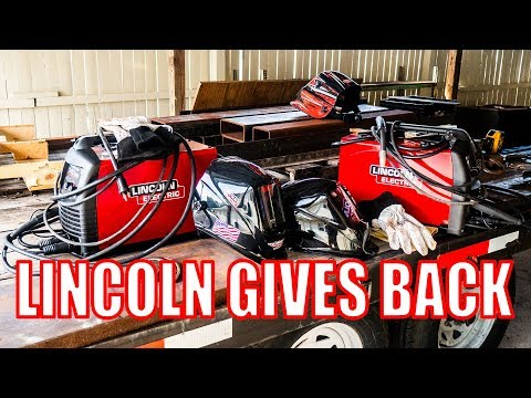 Lincoln Electric Gives Back with the Power MIG 140MP
