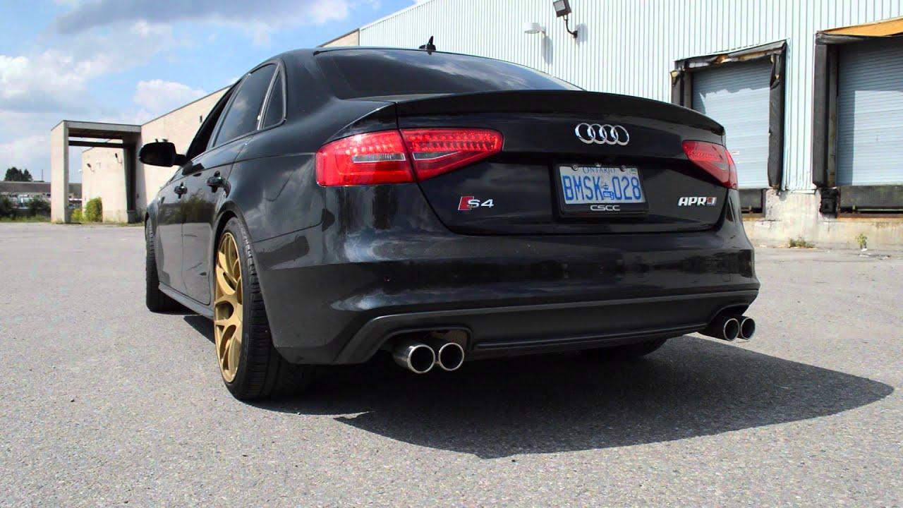 Audi s4 custom exhaust loud youtube audi s4 custom exhaust loud publicscrutiny Gallery