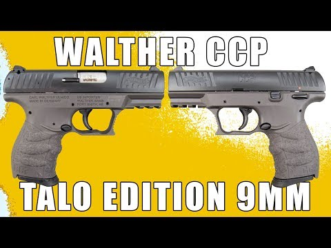 Overview: The Walther CCP TALO 9mm