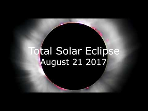 TOTAL SOLAR ECLIPSE August 21, 2017 and From Where to see it Best