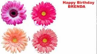 Brenda - flowers - Happy Birthday