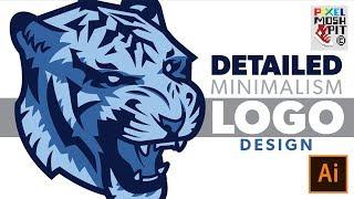 Adobe Illustrator: Logo Creation with Detailed Minimalism