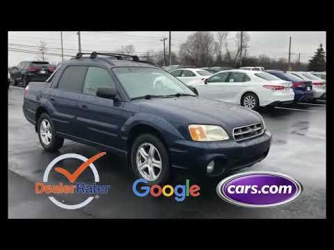 Used 2004 Subaru Baja Sport 4S4BT62C946100820 Huntington Station, Melville, Commack, Huntington