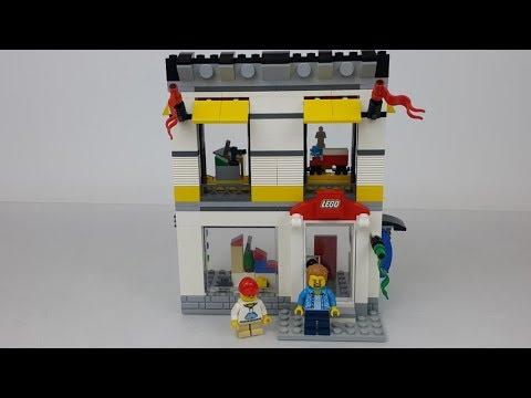 Lego 40305 Sklep Firmowy Lego W Mikroskali Youtube