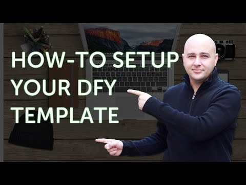 How to Setup My DFY WordPress Website Templates - It