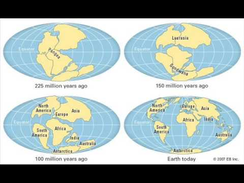 continental drift debunked youtube