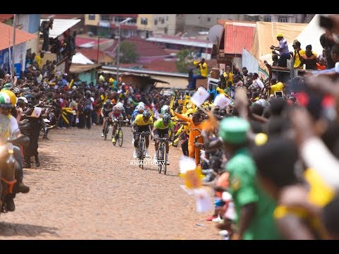 Tour du Rwanda 2017:The wall of Kigali (kwa Mutwe) the one of hardest climbs in Africa.