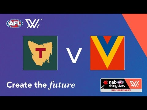 Tasmania V South Australia - NAB AFL National Women's U18 Championships
