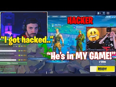 NICKMERCS *HACKED* WHILE LIVE STREAMING! Hacker JOINS TFUE Lobby! (SCARY) Mp3