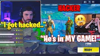 Baixar NICKMERCS *HACKED* WHILE LIVE STREAMING! Hacker JOINS TFUE Lobby! (SCARY)