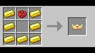 видео майнкрафт как сделать корону