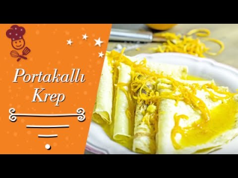 Crepe Suzette: Portakallı Krep ile ilgili görsel sonucu