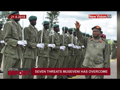 Seven deadly threats Museveni has overcome