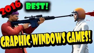 BEST GRAPHIC INTENSIVE GAMES 2016! Windows Phone! - TechStock