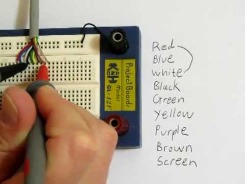 Checking A Cable For Short Circuits Using A Multimeter