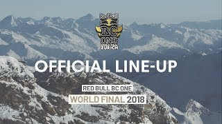 Red Bull BC One | 2018 World Final LIne Up