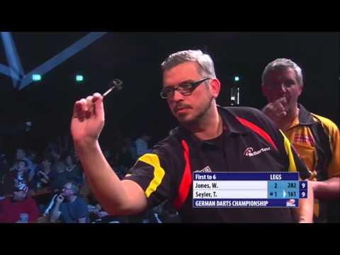 PDC German Darts Championship 2014 - Day 1 - Tomas Seyler vs. Wayne Jones