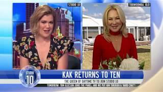 Kerri-Anne Kennerley Joins Studio 10!