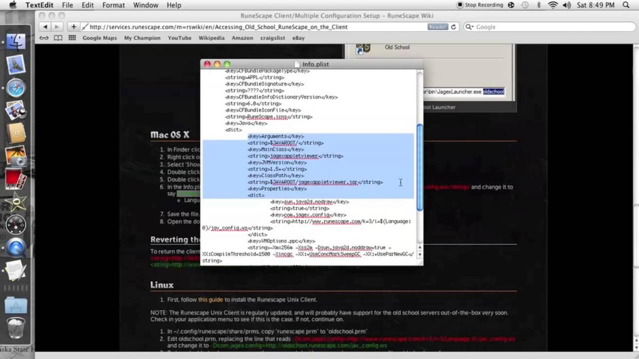 old school runescape client mac