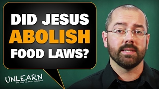 Did Jesus declare all food clean, and abolish the food laws?