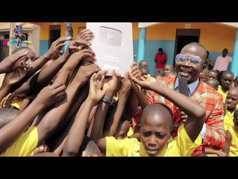 Teacher Mpamire YouTube Silver award Celebrations at Maag Infant School -Ndejje.