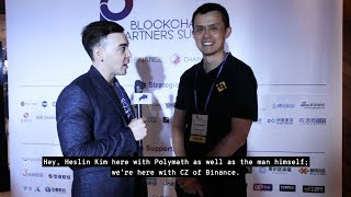 Changpeng Zhao (CZ) of Binance chats about their Decentralized Security Exchange in Malta