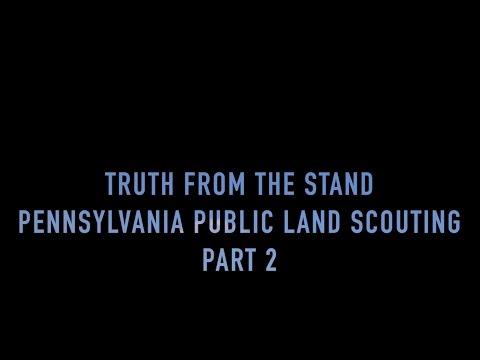 Deer Scouting Pennsylvania Public Land Part 2