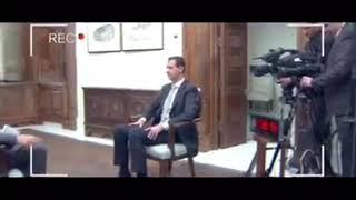 Bashar Al Assad gives his answer