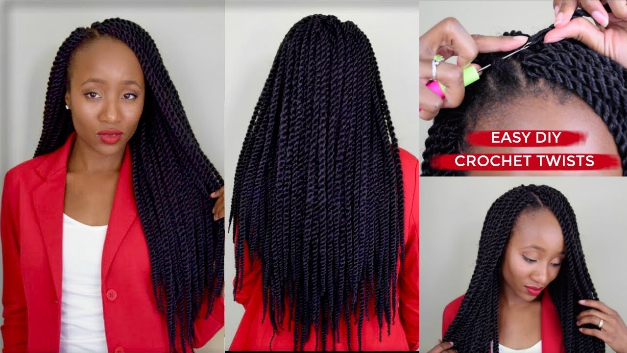 How To: Senegalese Twists in Under 3 hours! Aseamae - Crochet Twist Hairstyles