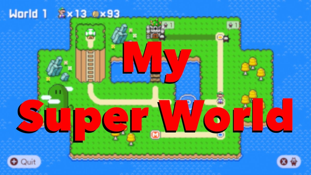 Playing SUPER Cave Miner World! Super Mario Maker 2 Showcase